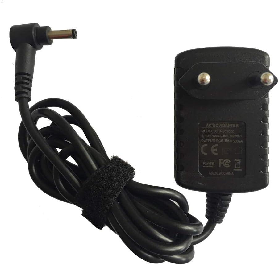ENJOY-UNIQUE Cargador Adaptador de Corriente Compatible con teléfono inalámbrico Panasonic KX-TG465SK KX-TGC210EB KX-TGF320E 5.5V 500ma Fuente de alimentación: Amazon.es: Electrónica