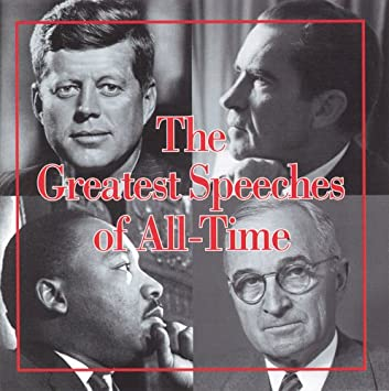 amazon greatest speeches of all time オムニバス コンピレーション