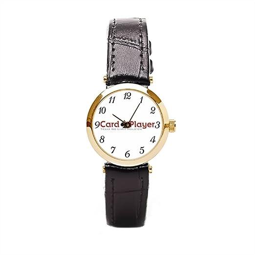 Ser un hombre muñeca reloj teléfono Internet diseños de póquer Poker Las Vegas para mujer muñeca Relojes: Amazon.es: Relojes