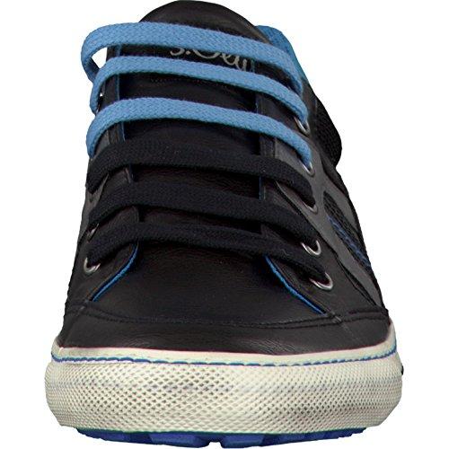 s.Oliver Herrenschuhe 5-5-13602-37 Herren Sneaker, Schnürer, Sportliche Schnürschuhe Navy Comb.