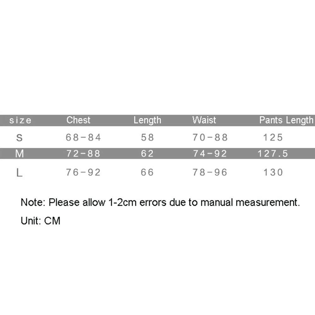 Mode /Ärmel r/ückenfrei Net Stitching Yoga beil/äufiger Overall BenCreative Damen-Sportbekleidung Set