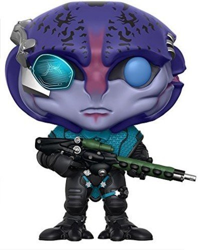 Funko POP Games: Mass Effect Andromeda Jaal Toy Figure (Mass Effect Best Moments)