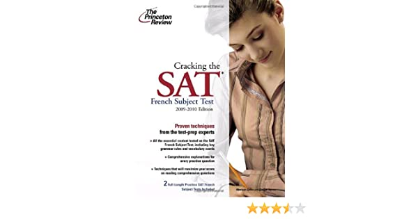 Cracking The SAT, 2010