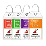 custom carnival - Carnival Cruise Ship Luggage Tags - eTag Holders by Cruise On