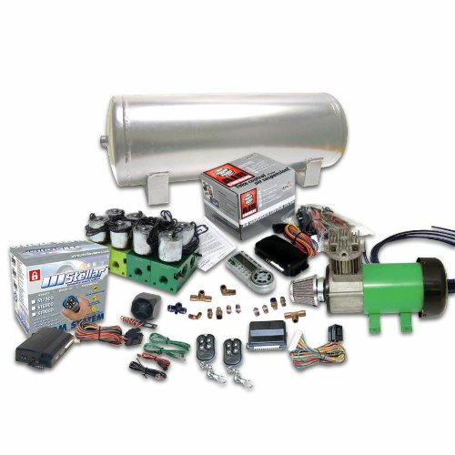 Helix 10161 8-Preset Digital Air Suspension Controller Kit with Alarm and Remotes