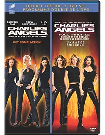 Amazon Com Charlie S Angels Charlie S Angels Full Throttle Unrated Double Feature Cameron Diaz Drew Barrymore Lucy Liu Bernie Mac Crispin Glover Mcg Movies Tv