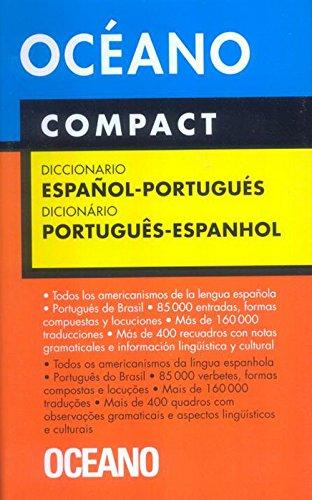Diccionario Oceano Compact Espanol-portugues/oceano...