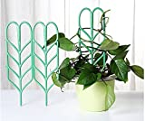 Mini Tomato Plant Cage Plant Support Garden Plant Pot Growing Support Mini Climbing Trellis 3-Pack