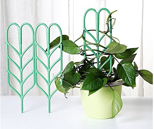 DIY Garden Plant Pot Tomato Cage Growing Support Mini Climbing Trellis Plant Support 3 Pack