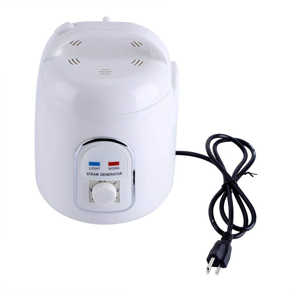 Pettyios Sauna Steamer Portable Pot 1.8 Liters Suit Home SPA Shower 110V (US Plug) by Pettyios