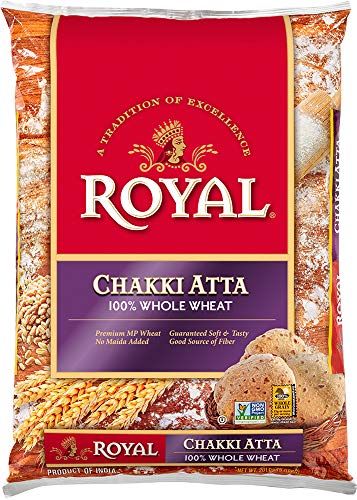 Royal Chakki Atta Flour, 20 Pound