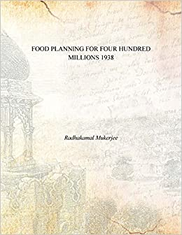 amazon in buy food planning for four hundred millions 1938 book