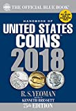 Handbook of United States Coins 2018: The Official Blue Book Paperback