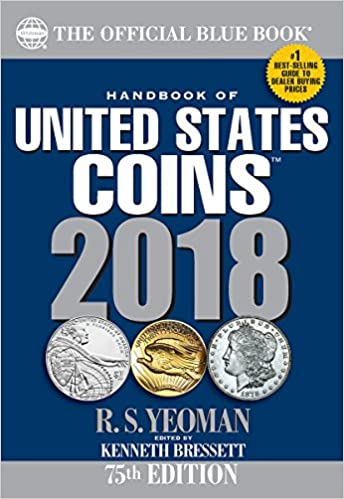 Whitman/'s Official Blue Handbook of United States Coins 2019 Paperback Book