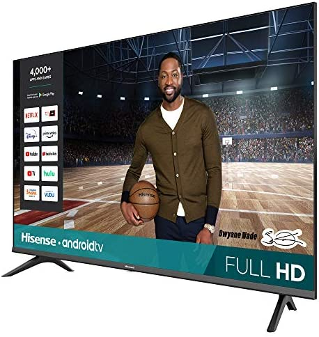 Hisense 43-Inch 43H5500G Full HD Smart Android TV with Voice Remote (2020 Model) 51TZhsLS2TL