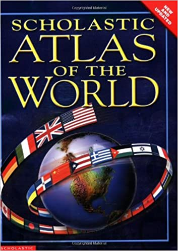 Scholastic atlas of the world kathy westray 9780439527972 amazon scholastic atlas of the world kathy westray 9780439527972 amazon books gumiabroncs