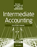 Solutions Manual V2 T/a Intermediate Accounting, 14th Edition, Kieso, Donald E. and Weygandt, Jerry J., 1118014642