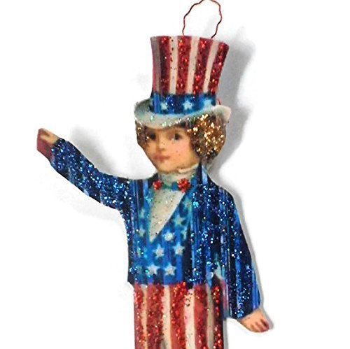 Fourth of July Ornament Decoration American Flag Patriotic B