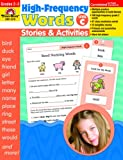 High-Frequency Words Stories and Activities, Level C, Grades 2-3, Evan-Moor, 1596732466