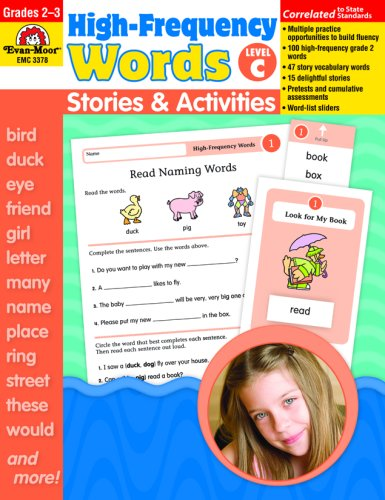Amazon.com: High-Frequency Words: Stories and Activities, Level C  (9781596732469): Evan-Moor Educational Publishers, Evan-Moor Educational  Publishers: Books