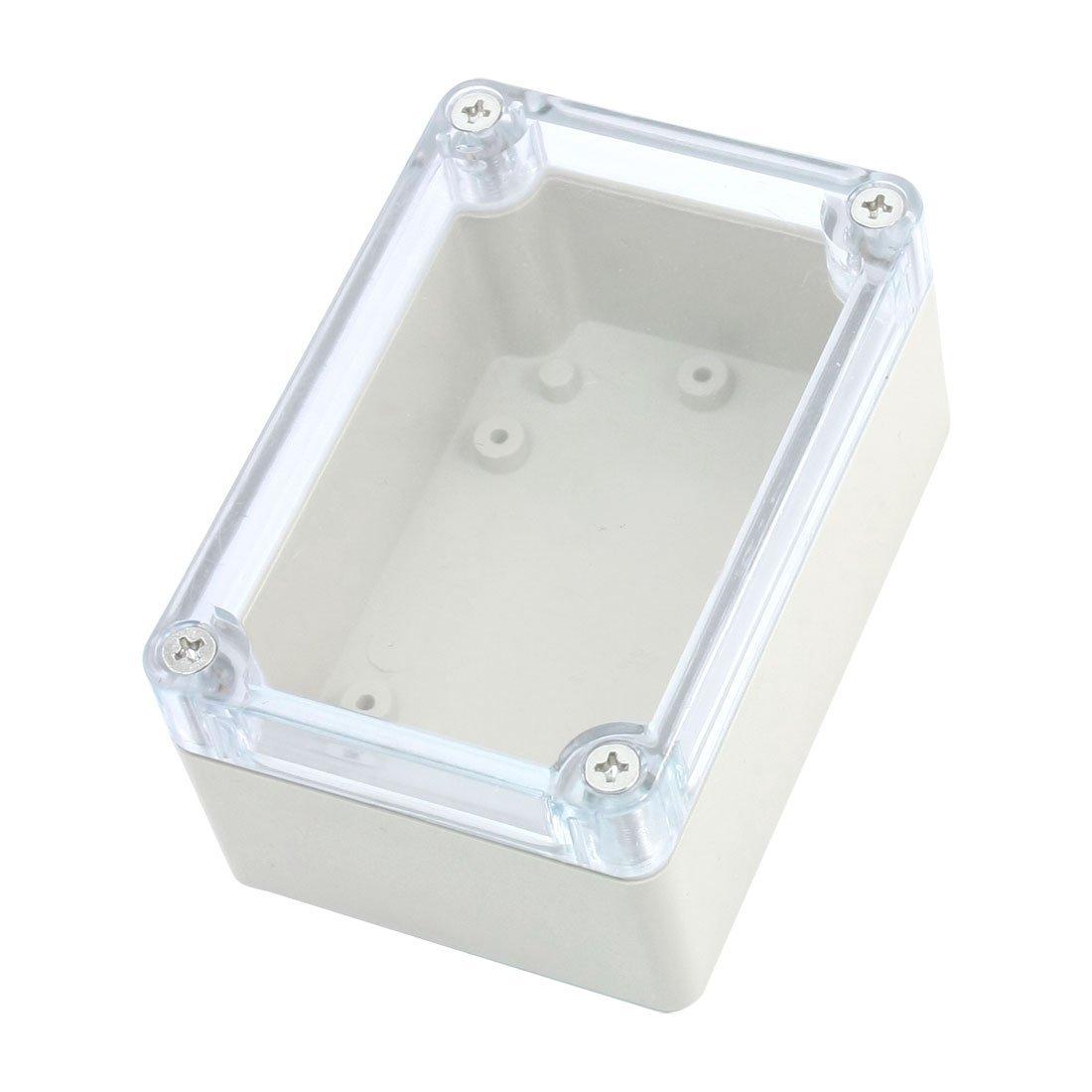 SNOWINSPRING Boitier de fermeture a vis et en caoutchouc etanche Boite de jonction etanche 100x68x50mm