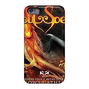 Anti-Scratch Cell-phone Hard Covers For Iphone 6 (wIA8210Joho) Unique Design Stylish Manowar Band Pictures