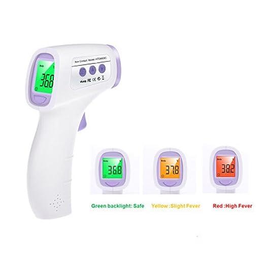 Amazon.com: YXBaby Termómetro electrónico para niños Termómetro clínico para niños y herramienta de medición de temperatura electrónica infrarroja Pistola ...