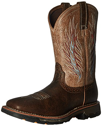 Work Workhog Boot Mesteno II Ariat Men's Stone Rustic Brown qPw7FfSx
