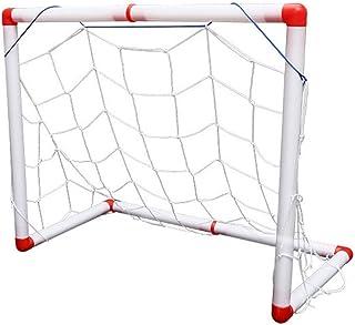 DorisAA But de Football pour Enfants en Plastique But de Football intérieur et extérieur But de Football Jouet de Sport interactif Parent-Enfant avec Ballon (Couleur : C1, Taille : 50 * 45 * 30cm)
