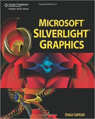 Microsoft Silverlight Graphics by Oswald Campesato (2008-06-06)
