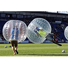 YaeKoo 1.5M Body Inflatable Gum Bumper Football Zorb Ball Human Bubble Soccer(SINGLE)