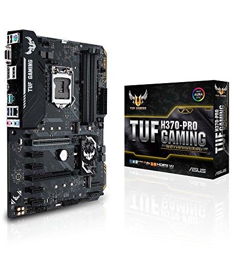 Asus Tuf H370-Pro Gaming Mainboard Sockel 1151 (ATX, Intel H370, DDR4, M.2, Intel Optane, USB 3.1 Gen 2, Asus Aura Sync)