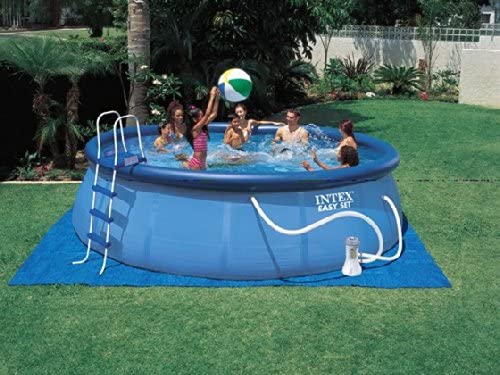 Intex - Piscina Easy Set C/Filtro Y Escalera 13.200L: Amazon.es ...