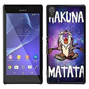 Dragon Case - FOR Sony Xperia T3 - ?please say it honestly - Caja protectora de pl??stico duro de la cubierta Dise?¡Ào Slim Fit