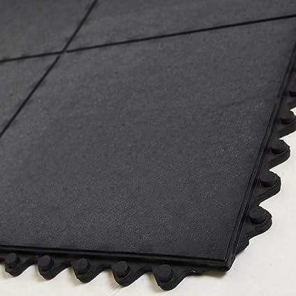 Ergocell Interlocking Rubber Floor Mat Insulating Waterproof Rubber Matting For Rubber Garage Floor Mat Gym Flooring Horse Stall Mats Indoor