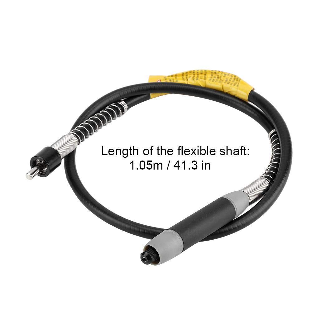 Arbre Flexible broyeur /électrique Perceuse Mandrin de per/çage de 6 mm Accessoires pour meuleuse /à Arbre Flexible Extension de meuleuse rotative pour Grande meuleuse /électrique