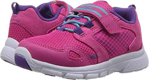 Stride Rite Girls' Made 2 Play Taylor Sneaker, Pink, 9 M US Toddler for $<!--$29.99-->