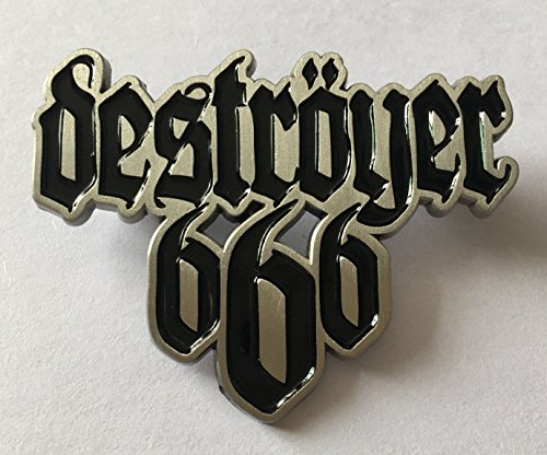 (DESTROYER 666-LOGO METAL PIN)