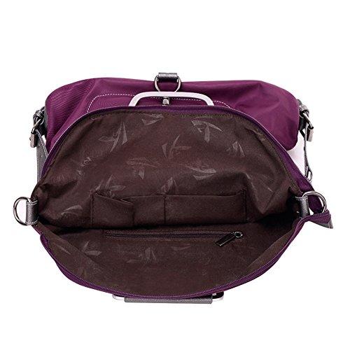 Mochila multipropósito/Bolsos de las mujeres/Paquete de diagonal/Bolso de la lona/Bolsas de viaje de ocio/Bolsa de paño de Oxford-C A