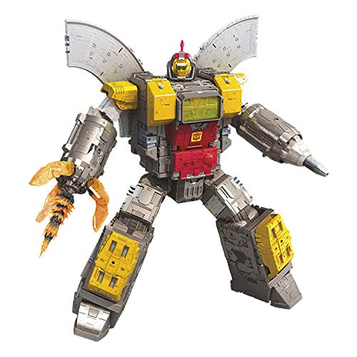 Transformers Toys Generations War for Cybertron Titan WFC-S29 Omega Supreme Action Figure - Converts to Command Center - Adults and Kids Ages 8 and Up, 2-feet ()