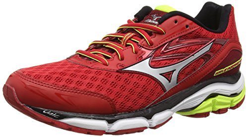 Homme 12 chinese Mizuno Red Red Compétition Rouge Yellow De silver Running Inspire Chaussures safety Wave qqv4A0