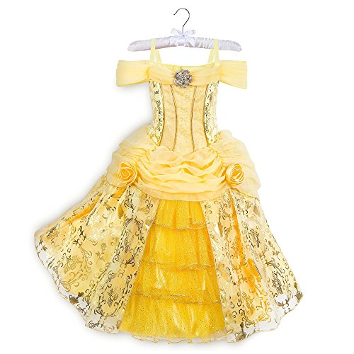 Disney Belle Deluxe Costume - Beauty and The Beast Size 3 Yellow -