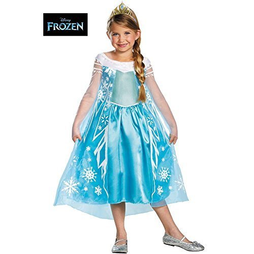 Frozen Elsa Child Deluxe 3T-4T]()