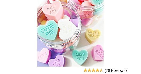Set of 3 Conversation Hearts Soap