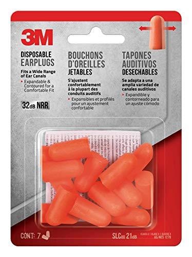 3M Disposable Earplugs, - Adult Plugs Ear