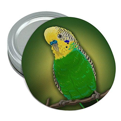 Green Parakeet Budgie Bird Round Rubber Non-Slip Jar Gripper Lid Opener
