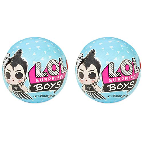 MGA L.O.L. Surprise! Boys Series Doll with 7 Surprises, 2-Pack