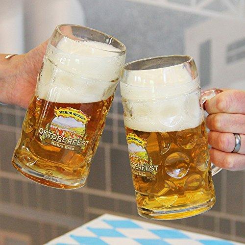 Sierra Nevada Brewing Company - Oktoberfest Glass Stein/Mug - (Sierra Nevada Celebration Ale)