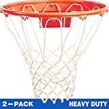 Katop Heavy Duty Basketball Net All Weather Thick Net Replacement 12 Loops(Outdoor and Indoor)