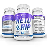 Kreil Labs Advanced Keto Weight Loss Fat Burner - Ketogenic Engery Supplement - Burn Fat Instead of Curbs & Boost Energy Level - All Natural Ingredients- 60 Capsules (1 Pack)